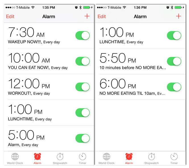 IPhone-Alarms-Set-for-5Bite-Diet